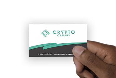 Crypto Campus – Visitekaartjes